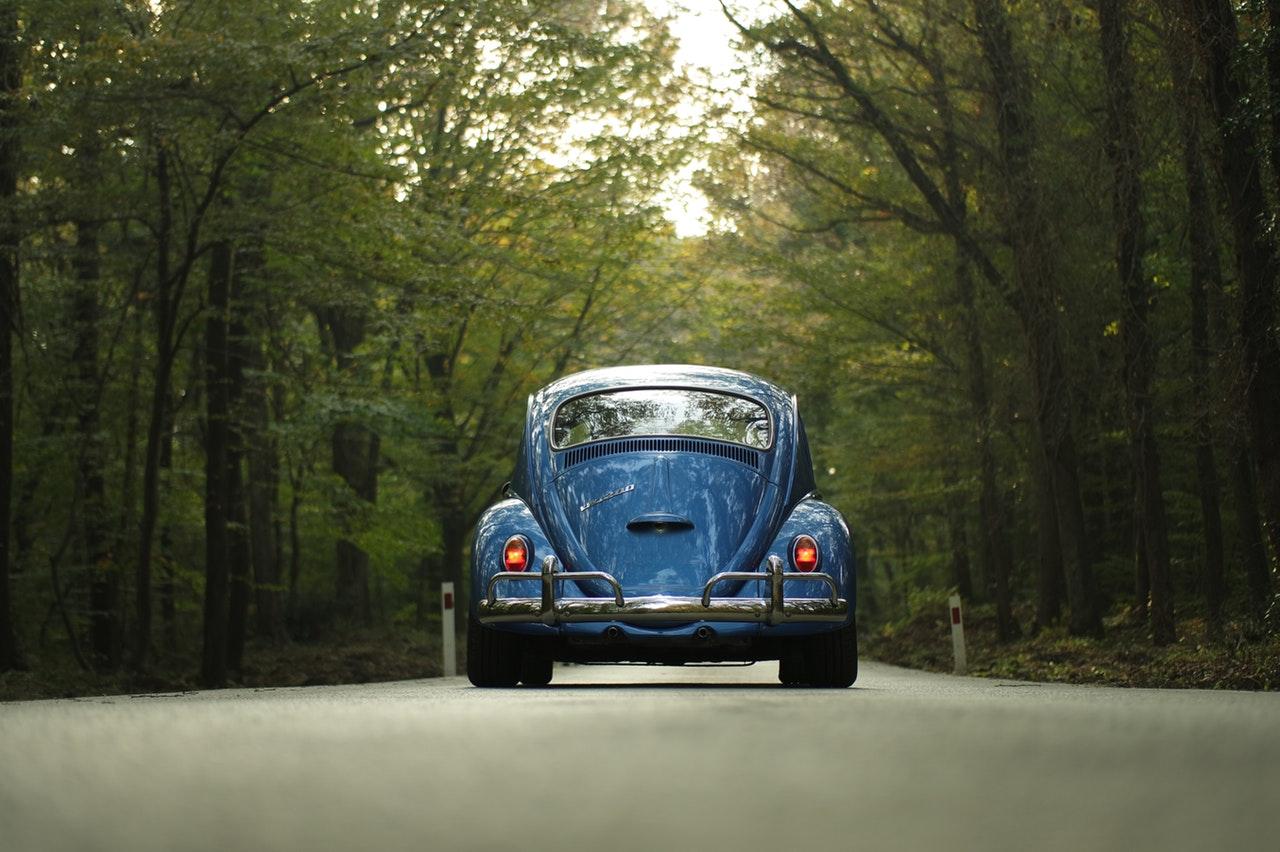 Bil av äldre modell